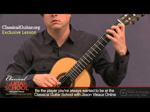 Jason Vieaux: Lesson on Bach from Artist Works