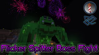 Flicker Spitter Boss Fight - Fireworks and Music!