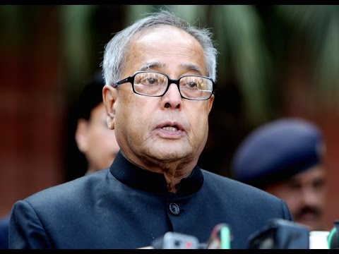 Address by the President Pranab Mukherjee to Parliament