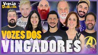 VINGADORES & THANOS | Encontro de Dubladores