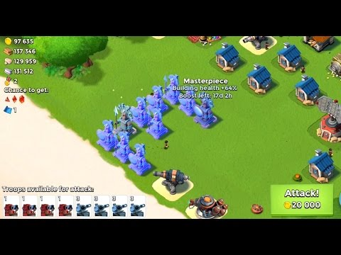 Mission Impossible | Boom Beach | Mega Ice Base video