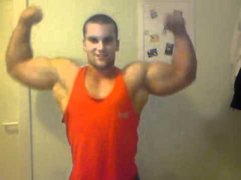 hamby shows big arms 19 48cm muscle bodybuilding posing youtube. Black Bedroom Furniture Sets. Home Design Ideas