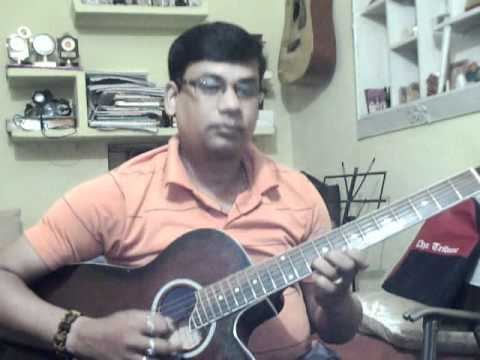 Jane kaise kab kahan on guitar