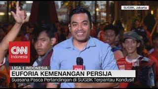Persija Juara Liga 1 Indonesia, Begini Suasana Euforia nya