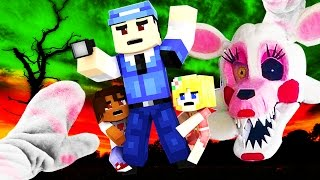 Realistic Minecraft - FNAF MANGLE IN REAL LIFE!