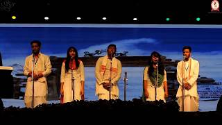 MMU Indian Group Singing in AIU'18