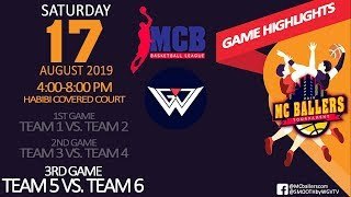 MC Ballers Basketball Tournament | Team 5 vs Team 6 Highlights || Sports 03