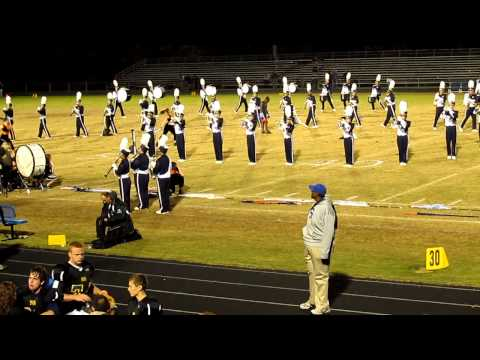 North Stafford High School Marching Band part 1 10/19/2012