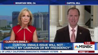 Andrea Mitchell Continuously Has To Correct Clinton Supporter Rep. Schiff About The IG Report