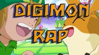 DIGIMON RAP | AMIGOS | La otra zona Ft Xion Mc