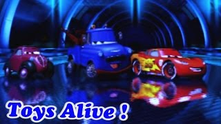 Cars 2 Game Play - 3 Players Battle Race 2
