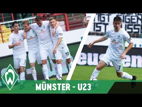 Werders U23 bleibt weiter ungeschlagen und fährt beim 1:0 gegen Preu�en Münster durch ein Kopfballtor von Kapitän Rafael Kaziorden nächsten Dreier ein... � Abonnieren/Subscribe: http://bit....