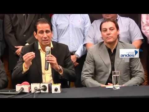 Cierre de campaña a presidente de Barcelona Sporting Club de Ecuador
