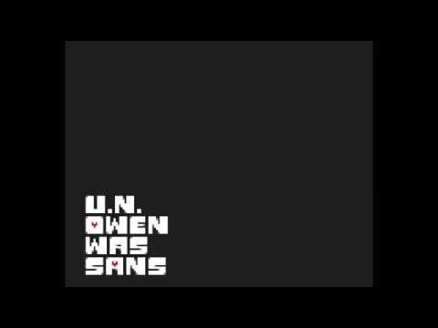 U.N. Owen Was Sans - Megalovania-styled Remix