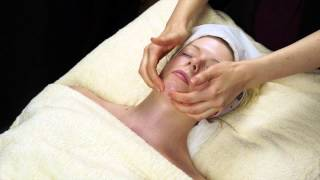 Basic Facial Massage Demo