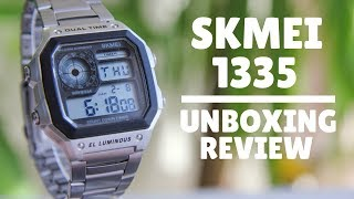 Skmei 1335 Unboxing and review
