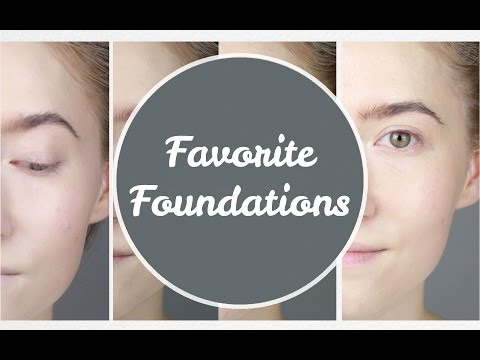 My Favorite Foundations - Dry Skin (Review + Demo)   geekNchic