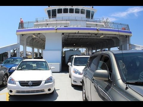 Ferry Ride - Cedar Island  to Ocracoke NC