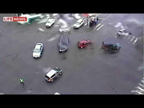 Водители обвинили регулировщика в ДТП с 3 авто