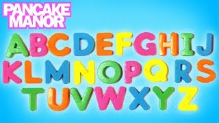 ALPHABET SONG ♫ | Learning ABC | Kids Songs | Pancake Manor