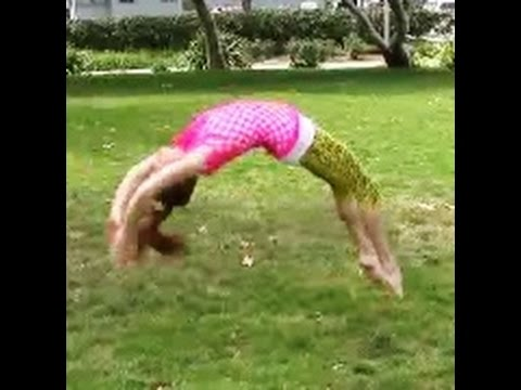 Gymnastics: How To Do A Back Handspring With Coach Meggin!