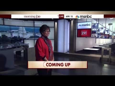 Valerie Jarrett Kisses Reporters Before Interview