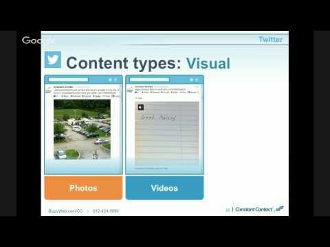 Social Media 102: A SCORE Webinar by BizzyWeb