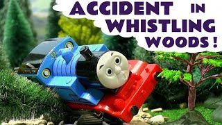 Thomas The Tank Engine Accident and Rescue Toy Trains Episode - Family Fun with Train Toys TT4U
