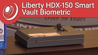 Overview - Liberty HDX-150 Smart Vault Biometric Handgun & Pistol Safe