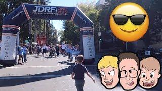 JDRF ONE WALK! 😎5k Type 1 Diabetes (T1D) Charity Walk   Funny Family Friendly Channel Vlogs 2018