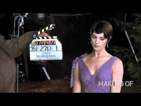 Go on set with Kristen Stewart, Robert Pattinson and Taylor Lautner as they film 'The Twilight Saga: Breaking Dawn - Part'. Watch more at http://makingof.com/
