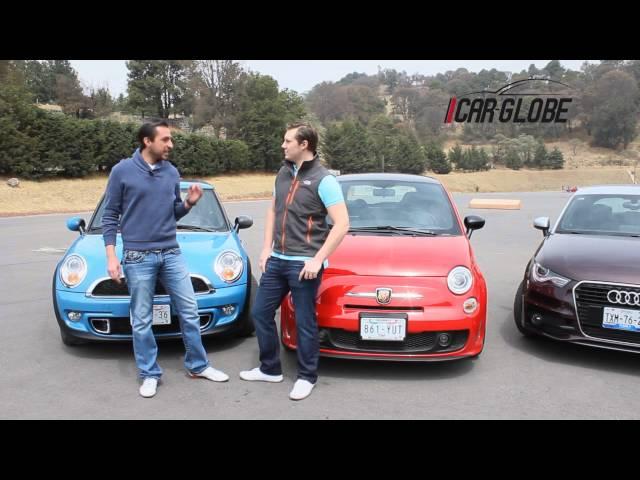 Comparativa Fiat 500 Abarth VS Audi A1 VS MINI Cooper S ...