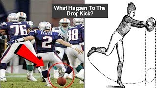What Happened To The Drop Kick? (and much more about the brief history of drop kicking)