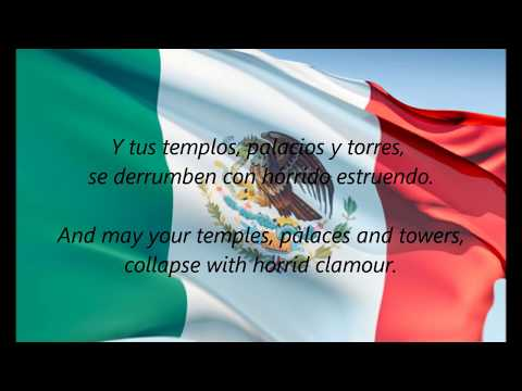 Mexican National Anthem - himno Nacional Mexicano (es en) video