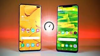 Samsung Galaxy S10 Plus vs Huawei Mate 20 Pro - Speed Test!