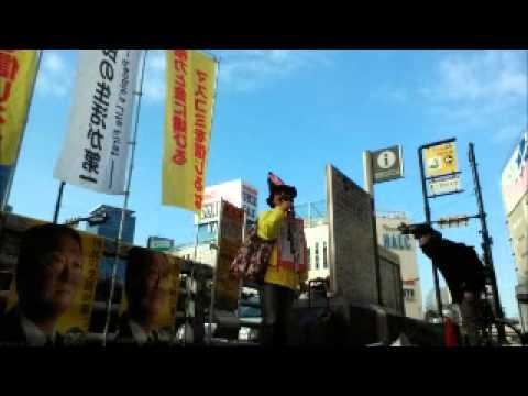 02 )   「生活の党・小沢一郎・山本太郎」応援、街宣活動