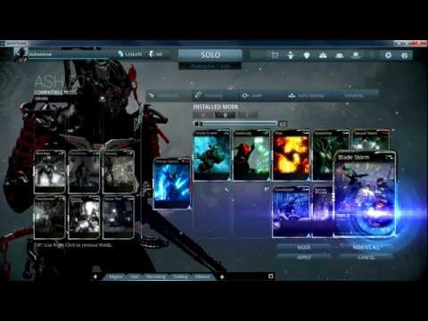WARFRAME ADVENTURE 4: SMOKESCREEN ASH BUILD