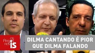 Debate: Dilma cantando é pior que Dilma falando