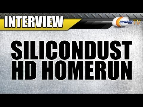 Newegg TV: SiliconDust HDHomeRun Networked Digital TV Tuners Interview
