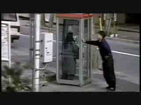 Farting In A Japanese Phone Box