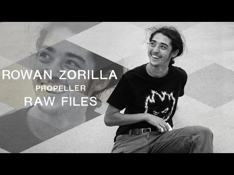 "Rowan Zorilla's ""Propeller"" RAW FILES"