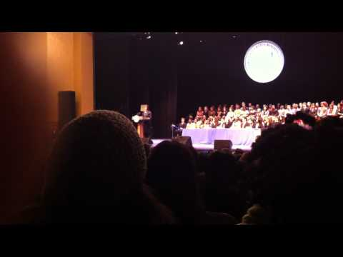 Michelle Obama's speech at Howard University China study abroad event