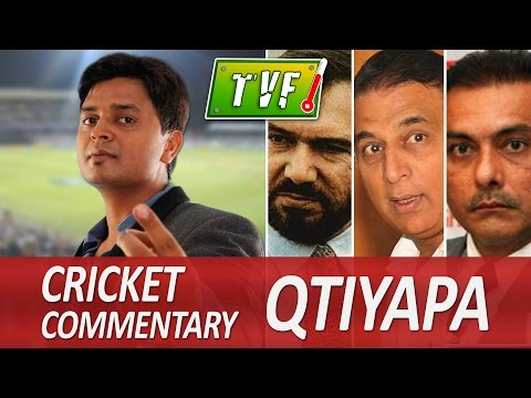 Tvf Live Show - Vipul Goyal On Cricket Commentary Qtiyapa video