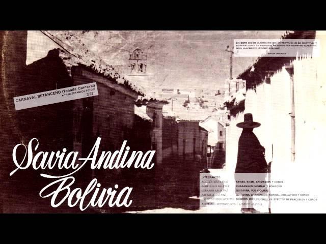 SAVIA ANDINA - Carnaval Betanceño (1986) HD // TONADA