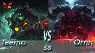 Omega Teemo vs Ornn - S8 Ranked Gameplay (Season 8)