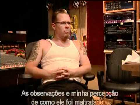 Metallica receiving the news that Dee Dee Ramone died (legendado)