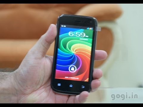 Micromax A68 unboxing and review