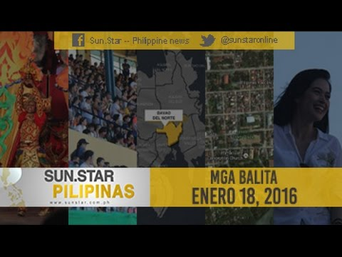 SUN.STAR PILIPINAS JANUARY 18, 2016