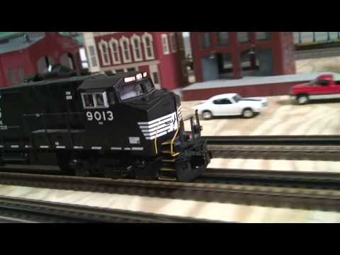 Overview of my O gauge train layout