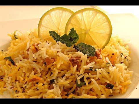 Vegetable Pulao - In Hindi